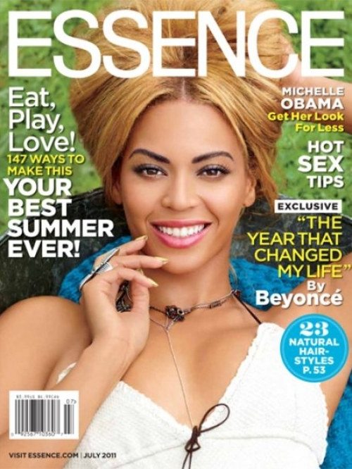 Beyoncé Covers Essence July 2011