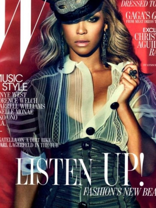 Beyoncé Covers W Magazine July 2011