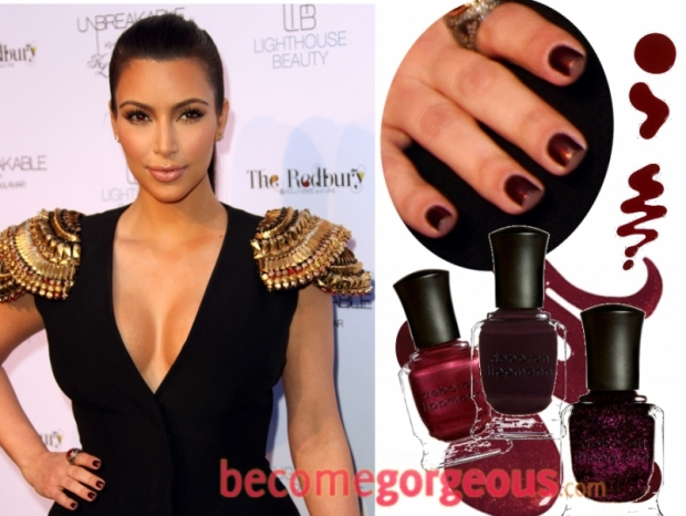 Kim Kardashian Nail Art Ideas