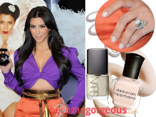 Kim Kardashian Nail Color