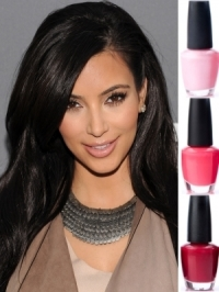 Kim Kardashian's Nail Colors in 2011
