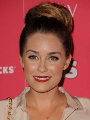 lauren conrad updo hair getty thumb Glamorous Celebrity Summer Hair Styles