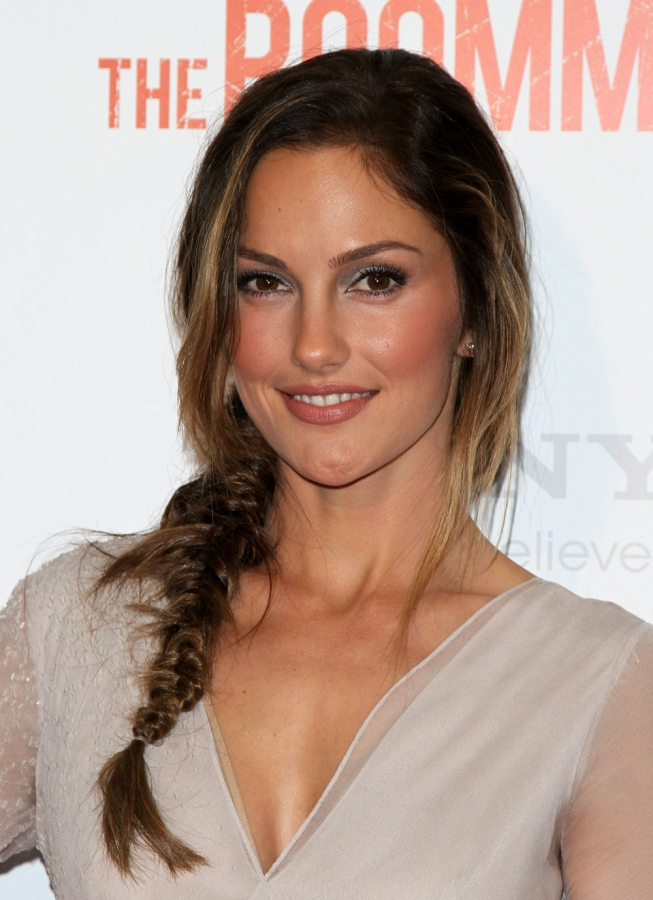 minka kelly hair 2011. Fabulous High Updo Hair Styles