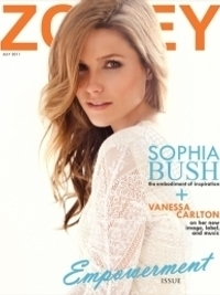 Sophia Bush Covers 'Zooey' Magazine June/July 2011
