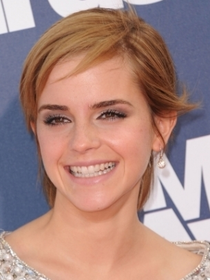 Emma Watson Short Layered Hair