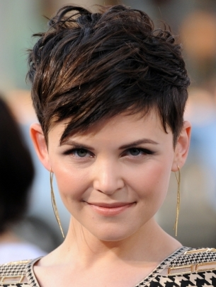Ginnifer Goodwin Pixie Hair Style