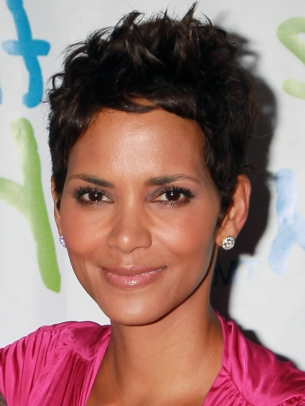 Halle Berry Short Pixie Hair