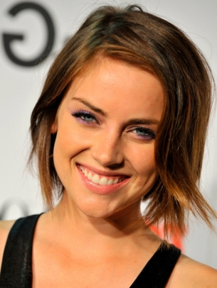 Jessica Stroup Short Layered Hair