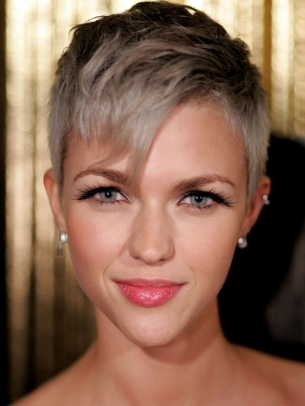 Ruby Rose Short Pixie Hair