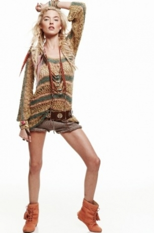 Free People June 2011 Lookbook: The Call of the Wild