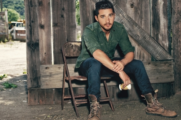 Shia LaBeouf Covers Details Admits Hooking Up With Megan Fox
