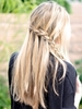 How to Style a Waterfall Braid