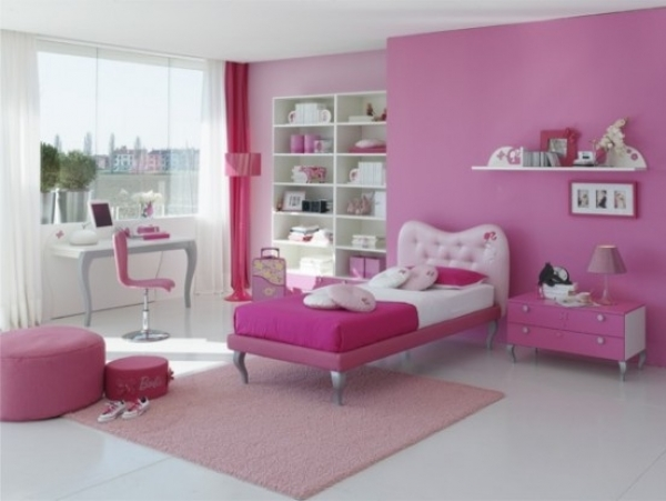 Girl Room Design Idea