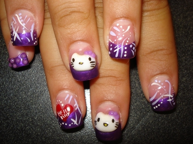 The Charming 3d hello kitty nail designs Digital Photography