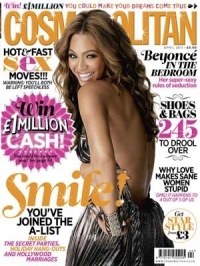 Beyonce Covers Cosmopolitan UK April 2011