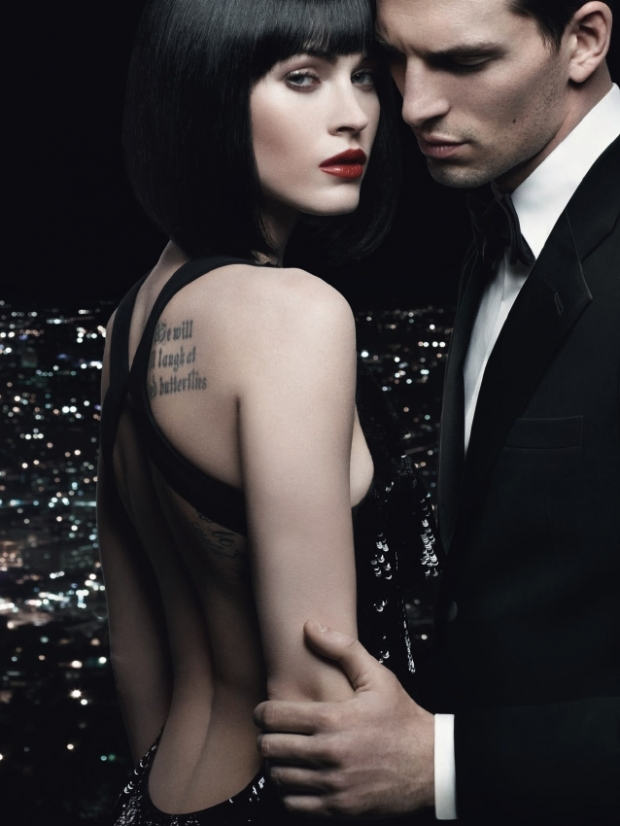 Megan Fox is the New Armani Code Woman