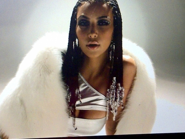 Kim Kardashian Music Video Braids