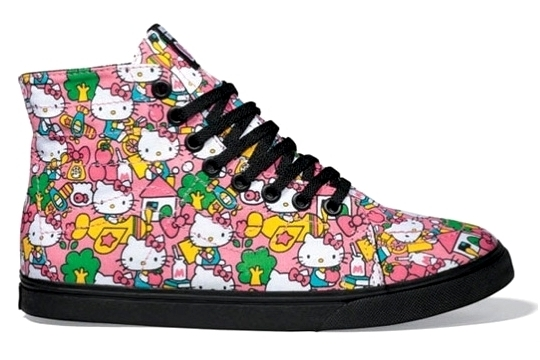 Vans x Hello Kitty Sneakers Line