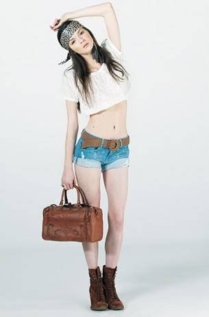 Bershka March 2011 Lookbook