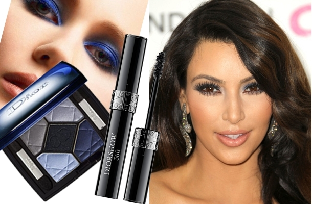 kim kardashian makeup tips. Navy Eye Makeup Kim Kardashian
