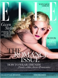 Gwen Stefani Covers Elle UK April 2011