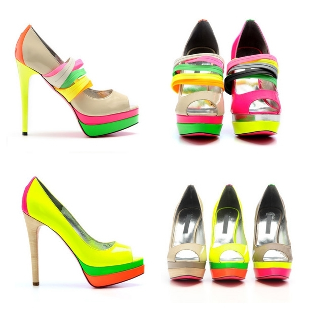 Ruthie Davis Spring/Summer 2011 Shoes LAVA LAMP and PALM SPRINGS