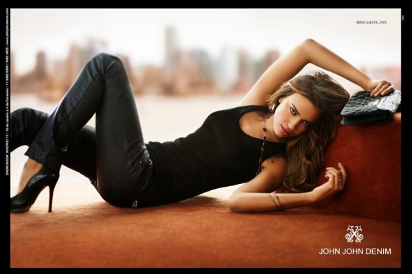 Irina Shayk for John John Denim Campaign