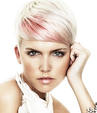 funky hair color ideas for blondes. Hair by Carly Roberts