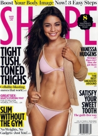 Vanessa Hudgens Covers Shape Magazine April 2011