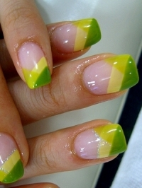 Bright Nail Art Designs