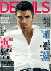 Joe Jonas Covers 'Details' April 2011