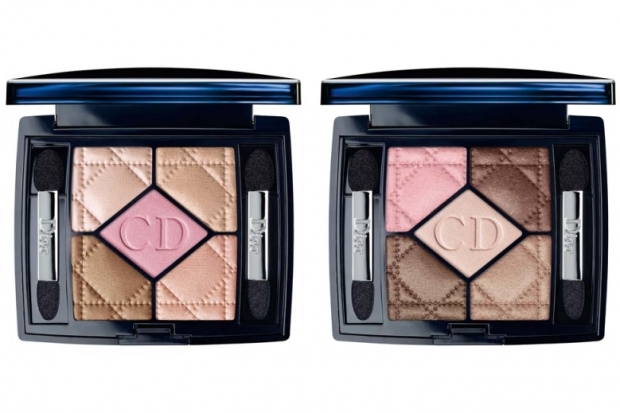 Dior 5 Color Eyeshadow Dior Electric Tropics Makeup Collection for Summer 2011
