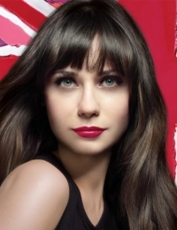 Zooey Deschanel for New Rimmel Lasting Finish Lipstick