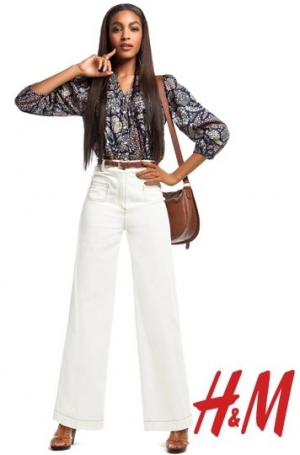 H&M Romantic Preppy Spring 2011 Collection