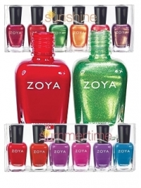 Zoya Sunshine and Summertime 2011 Nail Polishes