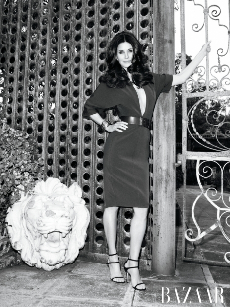 Courtney Cox Covers Harpers Bazaar April 2011
