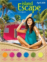 China Glaze Island Escape Summer 2011 Nail Polishes