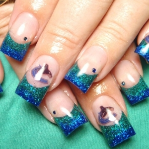 supersimple spring nail art ideas