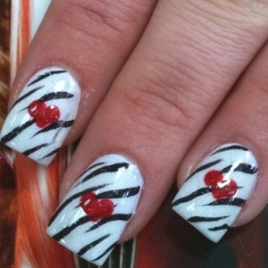 nail art designs 3 thumb trends in manicure Stylish manicure nails with roses nails art design Luxury manicure latest nails designs French manicure elegant manicure dotted manicure decorated manicure amazing design