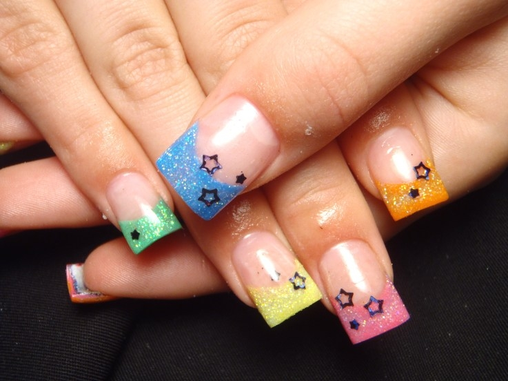 Super Simple Spring Nail Art Ideas