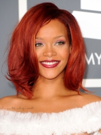 Hot Celebrity Medium Hair Styles