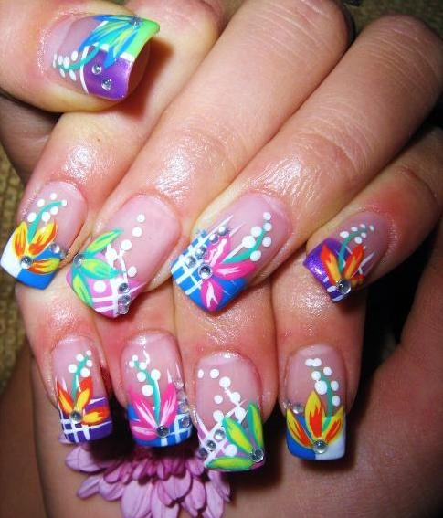 Fun And Colorful Nail Art Designs