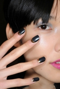 Half-Moon Nail Art Ideas