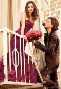 Leighton Meester in Vera Wang Lovestruck Fragrance Ad