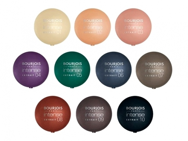 Bourjois Intense Extract Eyeshadows