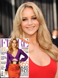 Jennifer Lawrence Covers Flare Magazine June 2011