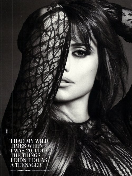 Penelope Cruz Talks Baby and New