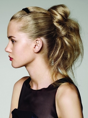 Ponytail Hairstyles for School