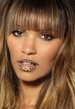 Temporary Lip Tattoos Trend