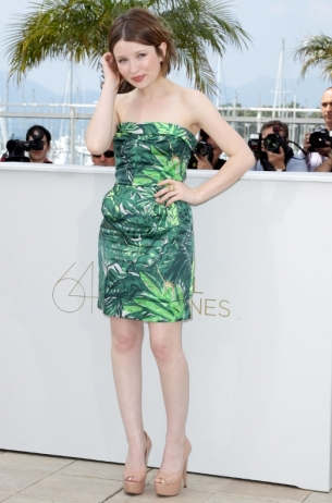 Emily Browning in Louis Vuitton
